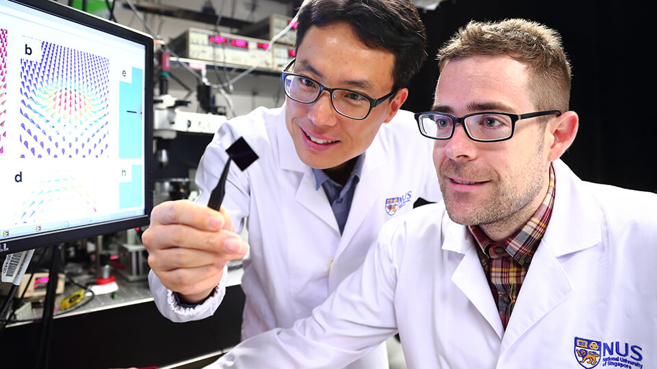 NUS scientists invent ultra-thin multilayer film for next-generation data storage and processing