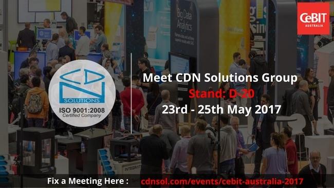 CDN Solutions Group Announces Participation in CeBIT Australia 2017