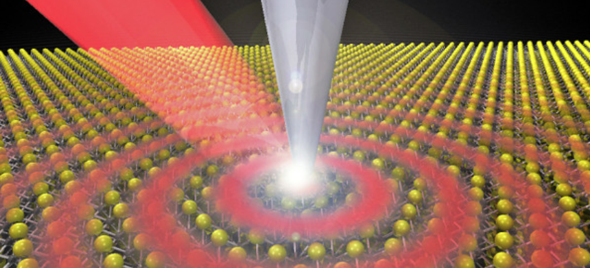 Half-light, half-matter paves way for faster circuits