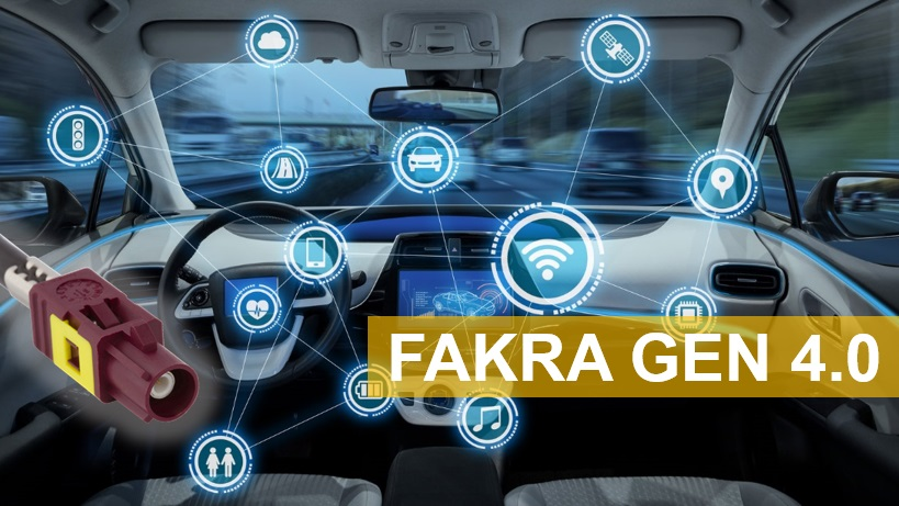 Amphenol RF introduces a new generation of the popular FAKRA connector series