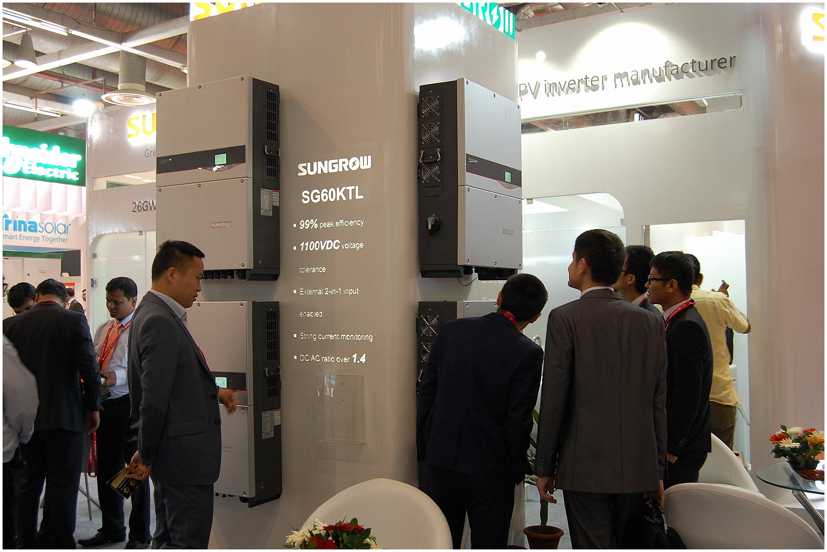 Sungrow releases new inverters at Renewable Energy India Expo 2016