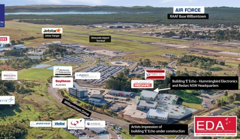 Defence manufacturer to establish business in Australian aerospace centre