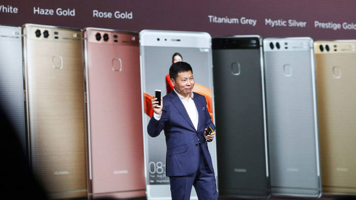 Huawei's smartphone push eats into profitability
