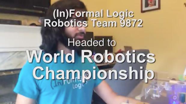 Harrisburg robotics team heads to World Championships