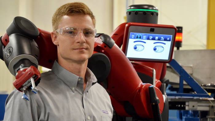Meet the cobots: humans and robots together on the factory floor