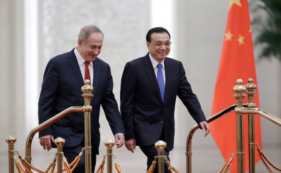 Protectionist US policies drive China into Israel's arms