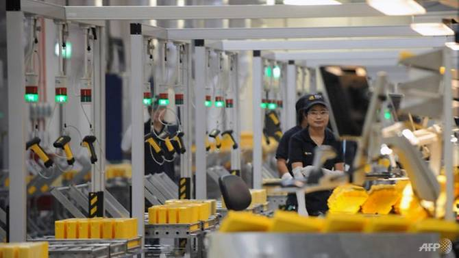 Singapore's manufacturing activity expanded at a slower rate in April