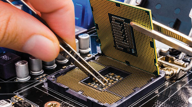 Manufacturing hub for electronics