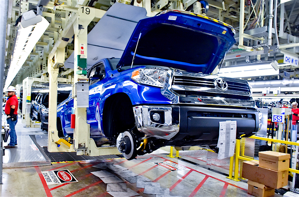 Toyota and Mazda to build a $1.6B US auto assembly plant