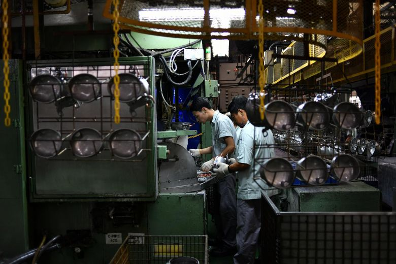 Manufacturing expands for 17th straight month but electronics growth continued to ease