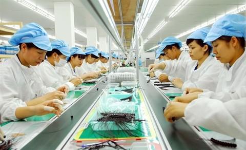 Vietnam electronics industry growing