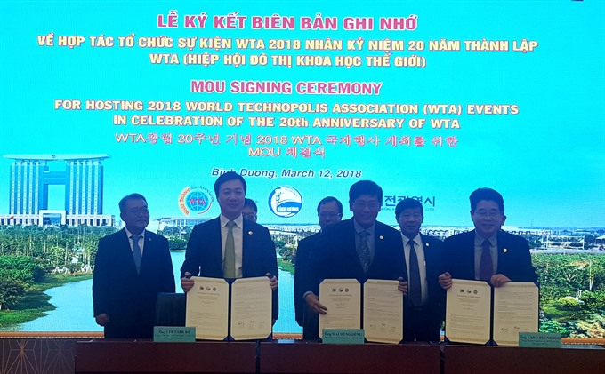 Binh Duong set to host World Technopolis Association assembly
