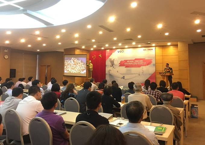 Vietnamese firms should embrace fourth industrial revolution: commerce chamber